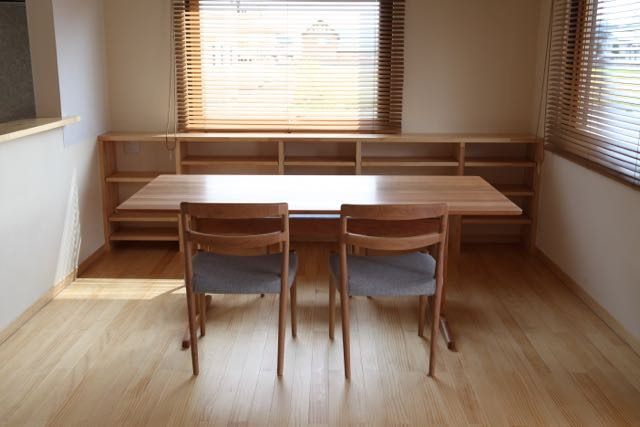 aテーブル Lチェア